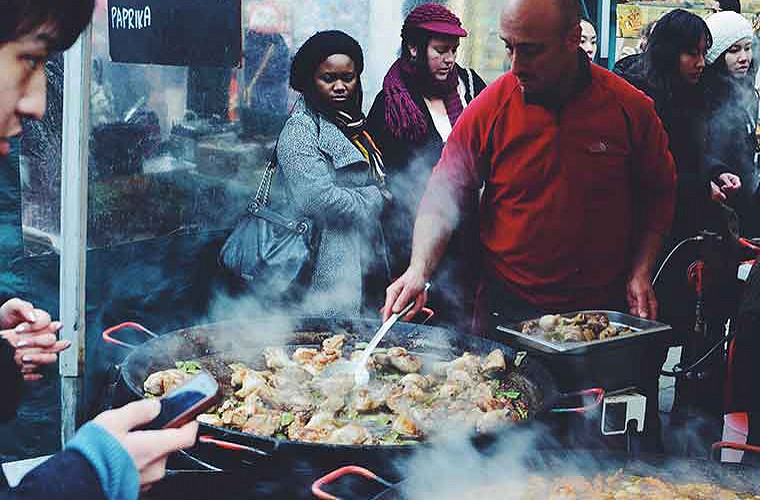 swiss cottage food market image of